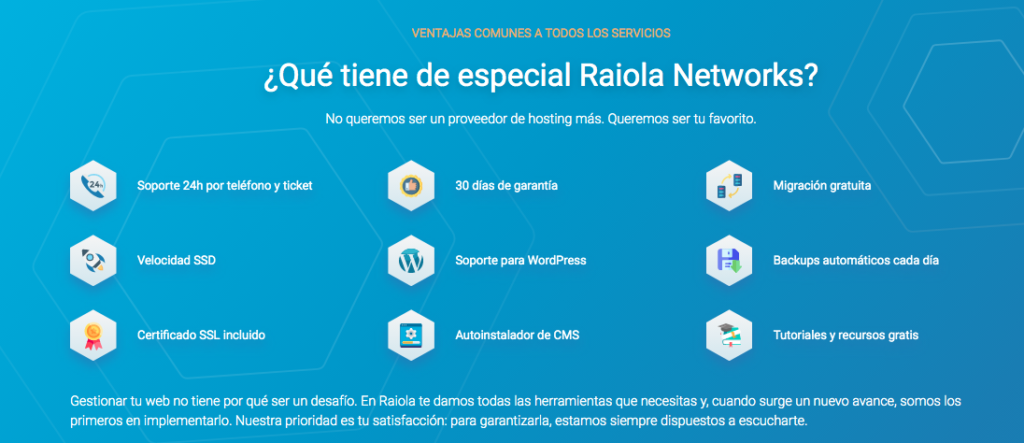 como funciona raiola networks